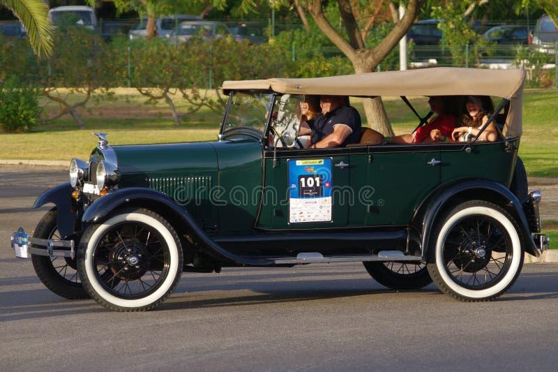 Ford en Phaeton (1929) royaltyfria foton