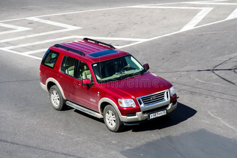 Ford Explorer stock afbeeldingen