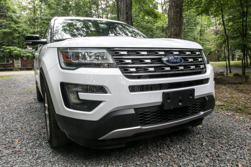Ford Explorer royalty-vrije stock foto