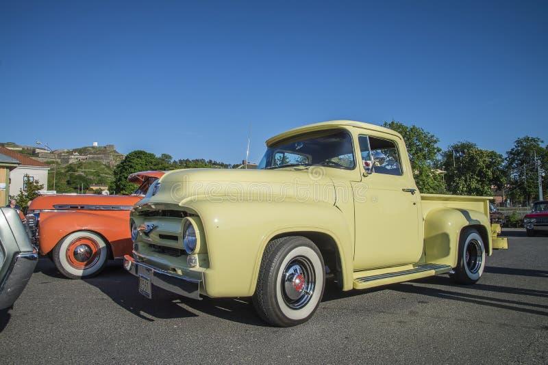 1954 Ford F100 Pickup fotografia royalty free
