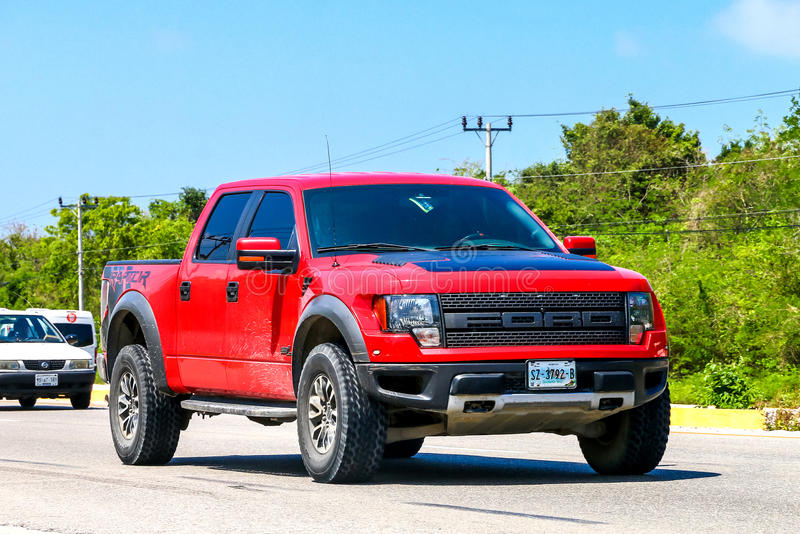 Ford F150 Raptor photo stock