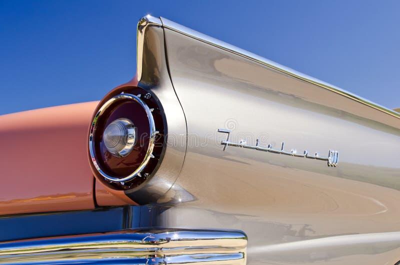 Ford Fairlane, véhicule classique américain images stock