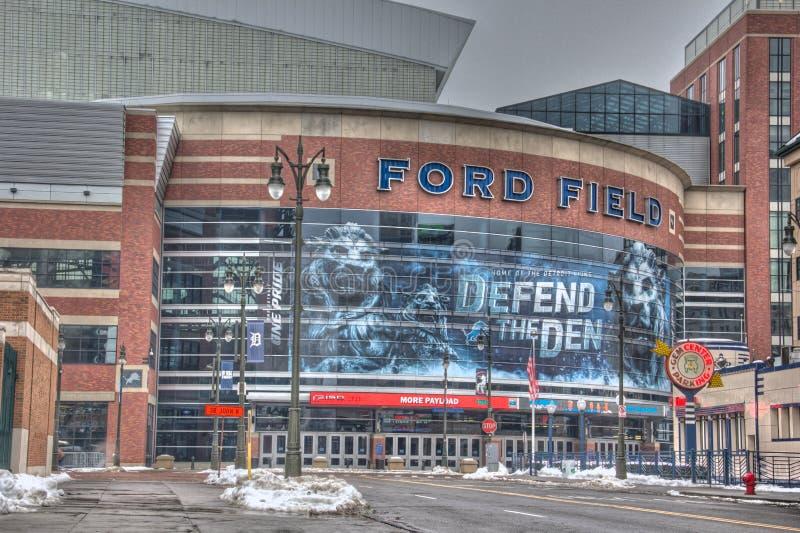 Ford Field royaltyfri bild