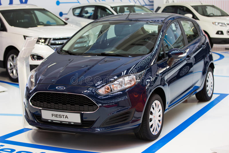 Ford Fiesta royaltyfria foton