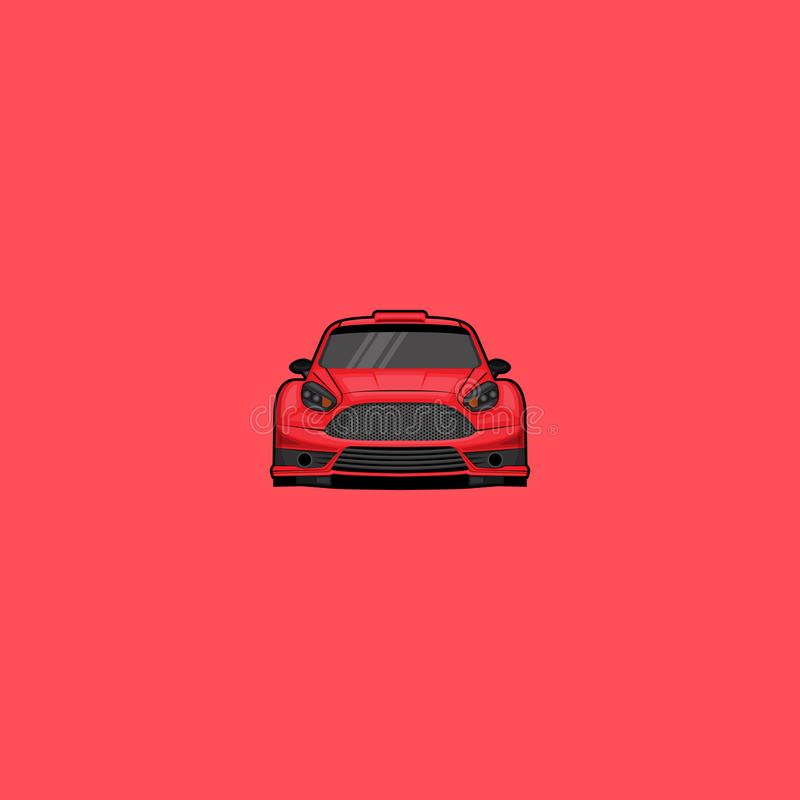 Ford Fiesta Rs stock illustratie