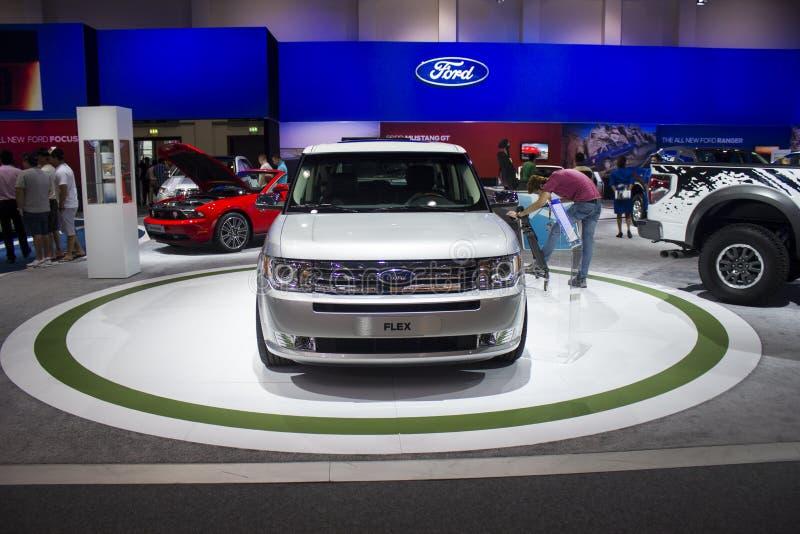 Ford Flex framdel royaltyfri bild