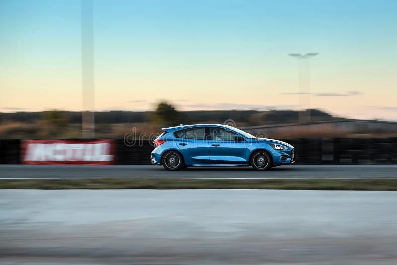 Ford Focus 2018 arkivfoton