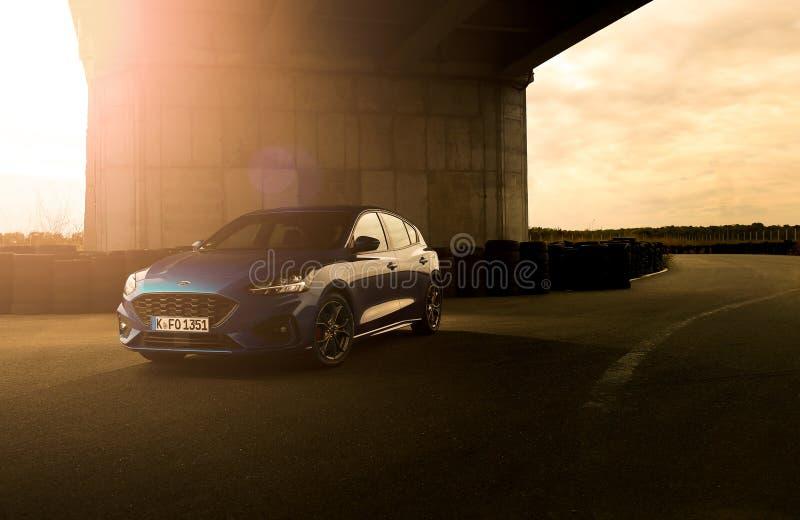 Ford Focus 2018 arkivbilder