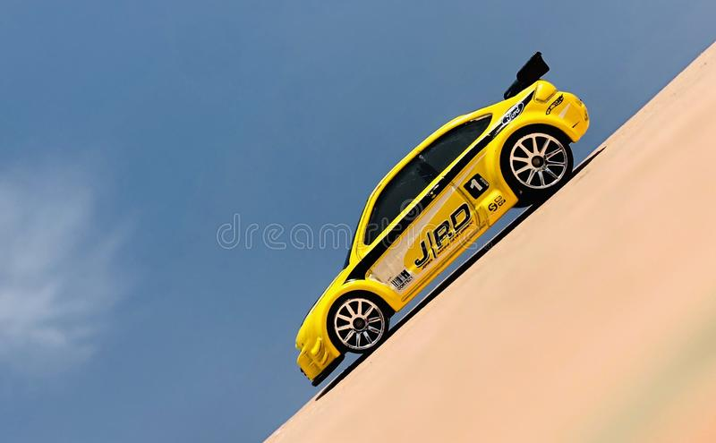 Ford Focus Hotwheels 2008 image stock