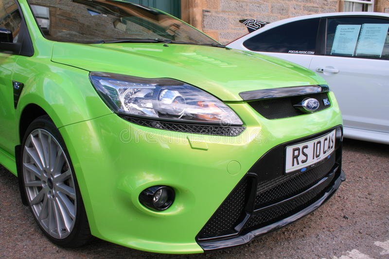 Download Ford Focus RS Editorial Stock Image - Image: 21032144