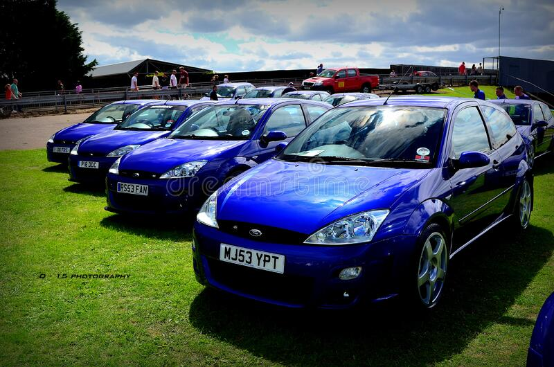 ford focus RS mk1 group stand RSOC stock photography