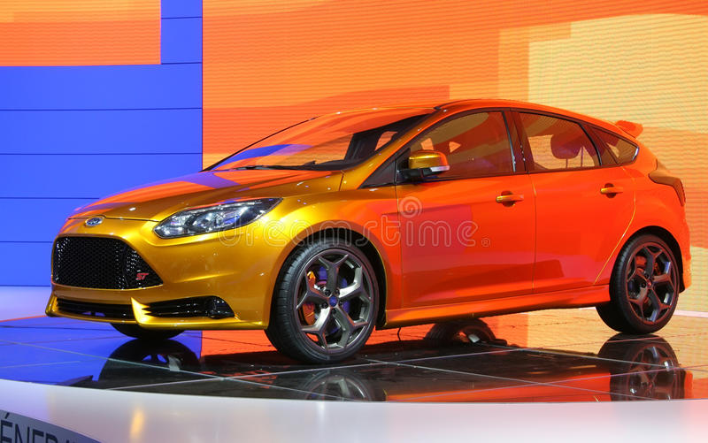 Download Ford Focus ST Concept At Paris Motor Show Editorial Photography - Image: 16460437