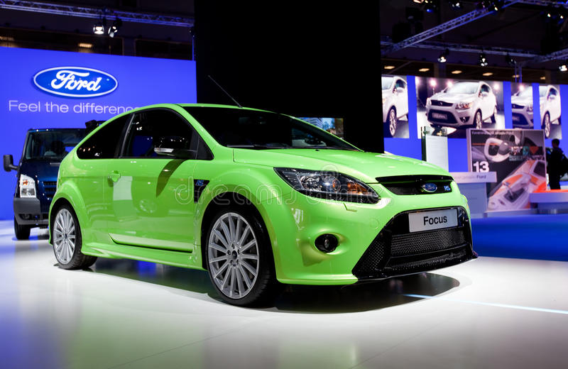 Ford Focus vert images libres de droits