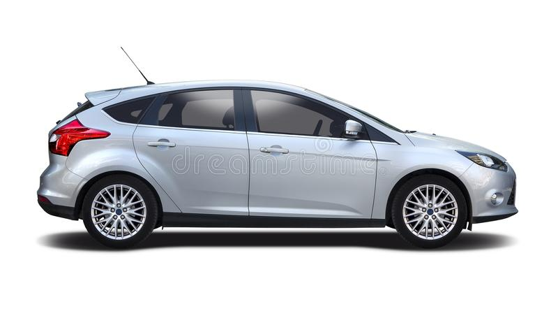Ford fokus royaltyfria bilder