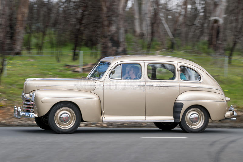 Ford Fordor Sedan 1946 fotografia de stock
