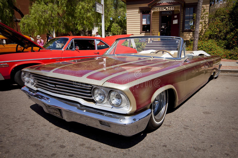 Ford Galaxie Lowrider Classic Car royalty free stock photos