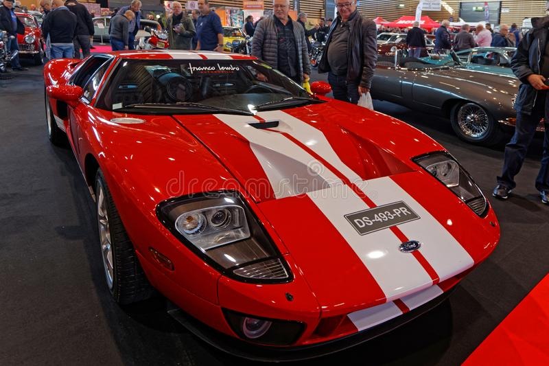 Ford GT40 au spectacle automobile Epoq Auto image libre de droits