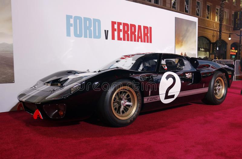 1966 Ford GT40 MKII royalty free stock images