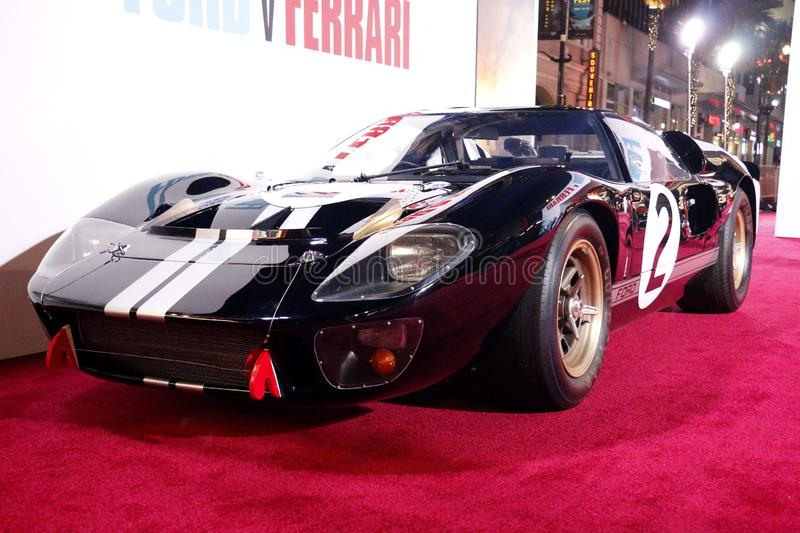 1966 Ford GT40 MKII royalty free stock image