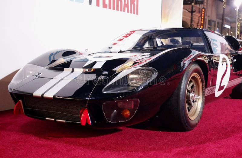 1966 Ford GT40 MKII royalty free stock photos
