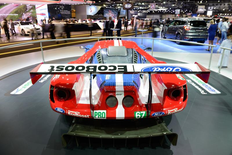 Download The Ford Gt Race Car Is On Dubai Motor Show  Editorial Image Image