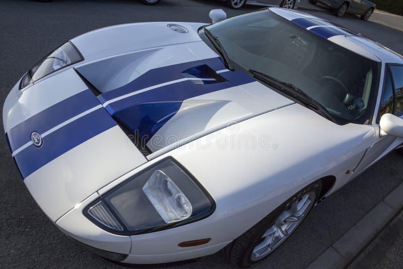 Ford GT Sportscar fotos de stock royalty free