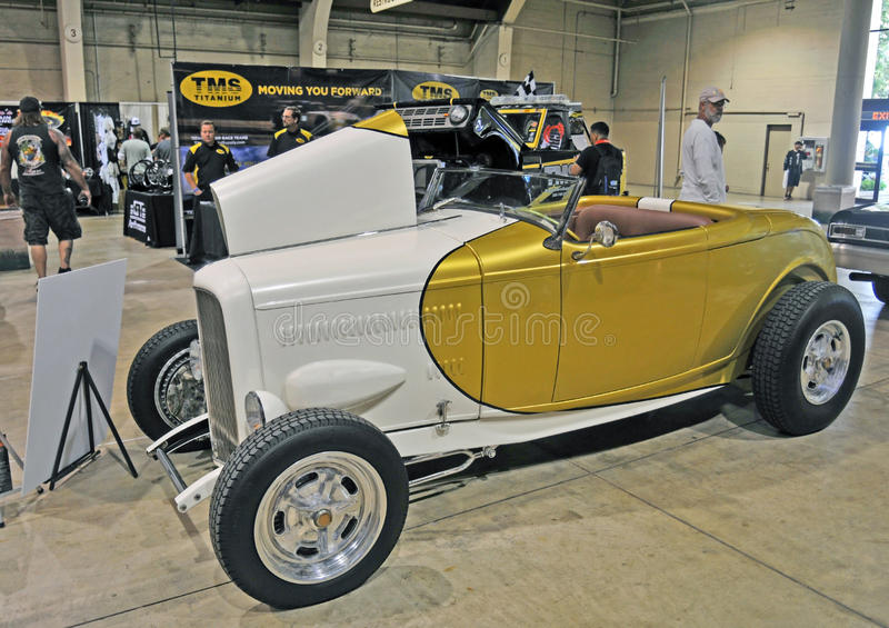 Ford Hi-Boy Roadster fotos de archivo