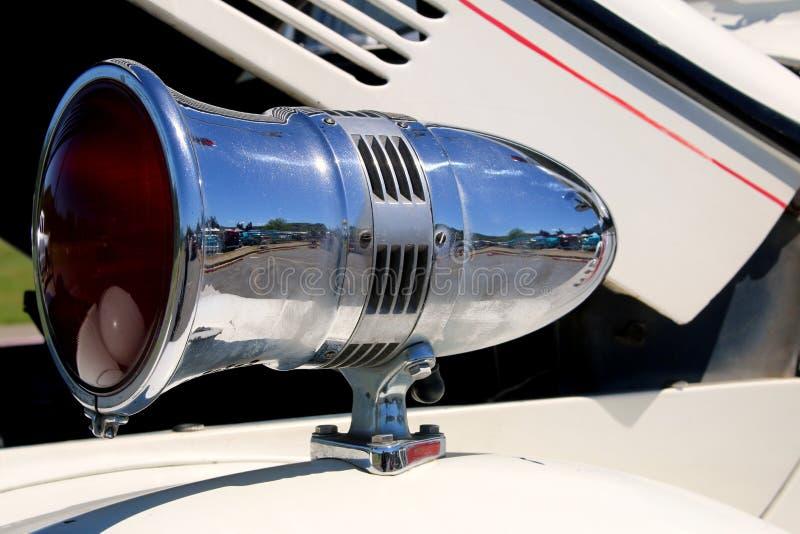 1940 Ford Howard Cooper Fire Engine Siren en Licht stock fotografie