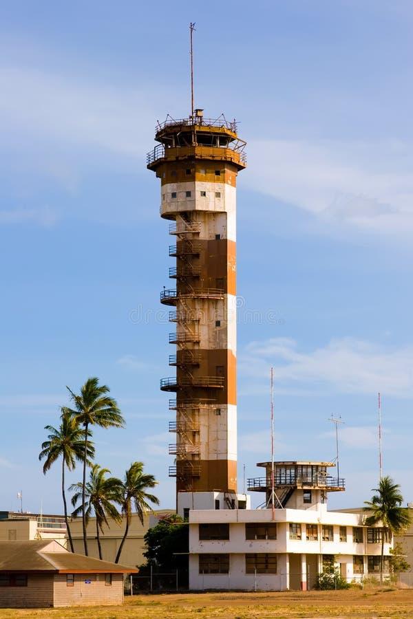 Ford-Insel-Kontrollturm stockfotos