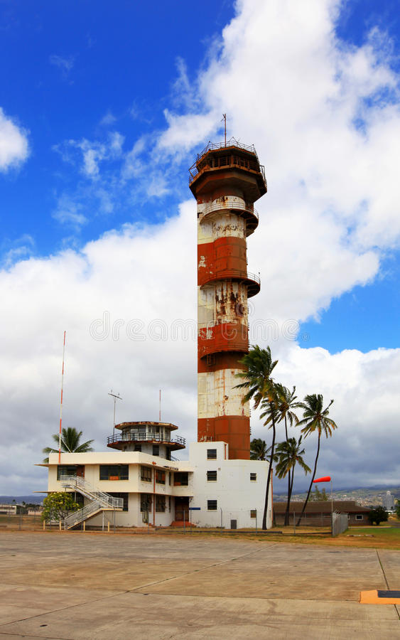 Free Ford Island Control Tower Stock Images - 13561224