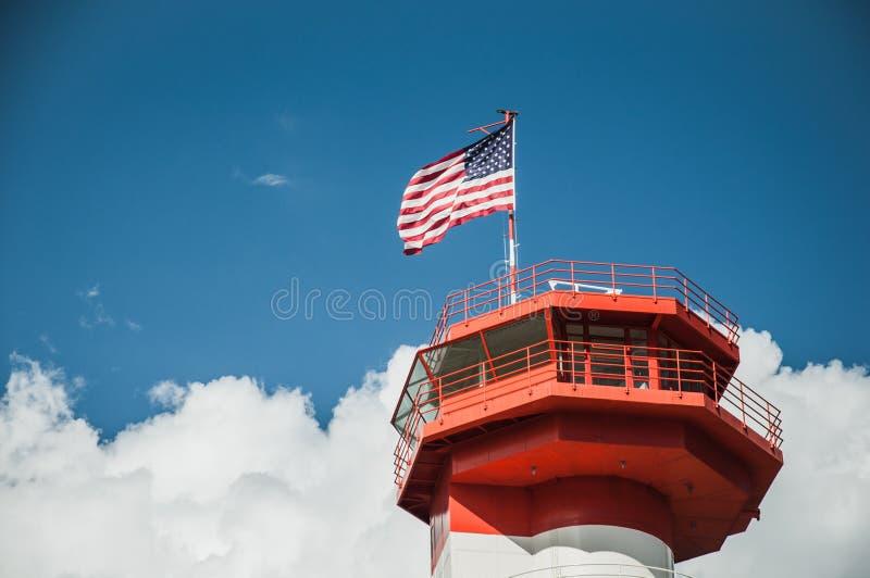Ford Island Control Tower lizenzfreies stockbild