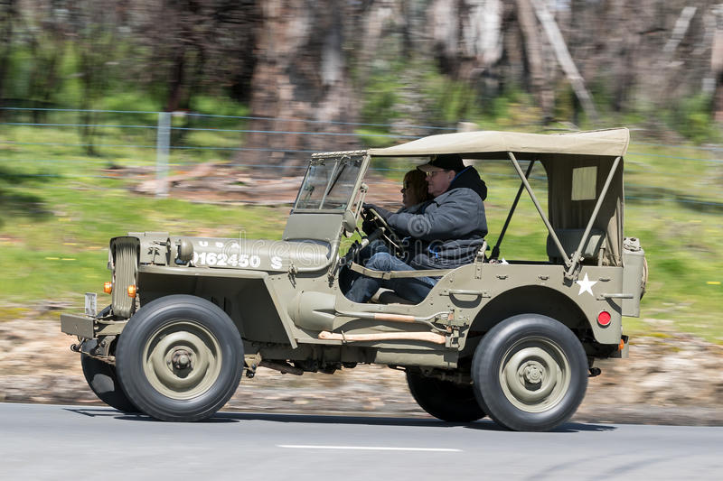 Ford Jeep Utility 1943 fotografia stock