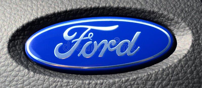 Ford Logo royalty free stock photo