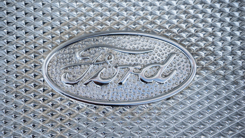 Ford Logo stock foto