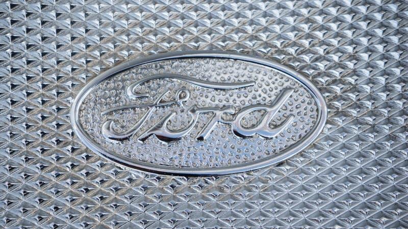 Ford Logo stock photo