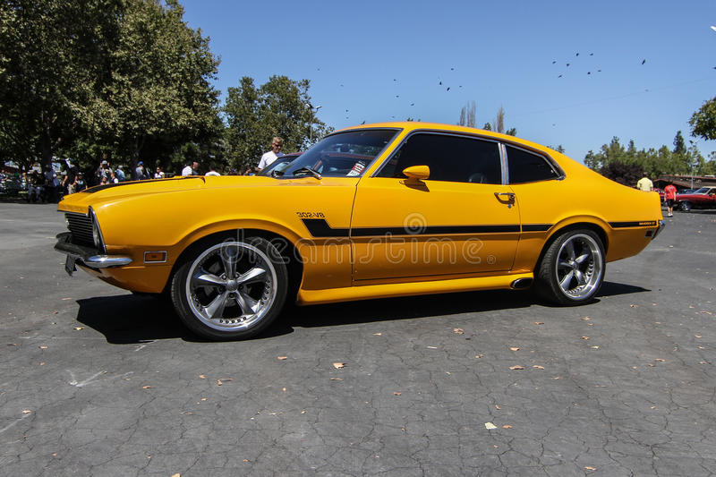 Download Ford maverick gt editorial stock image. Image of motion - 41883284