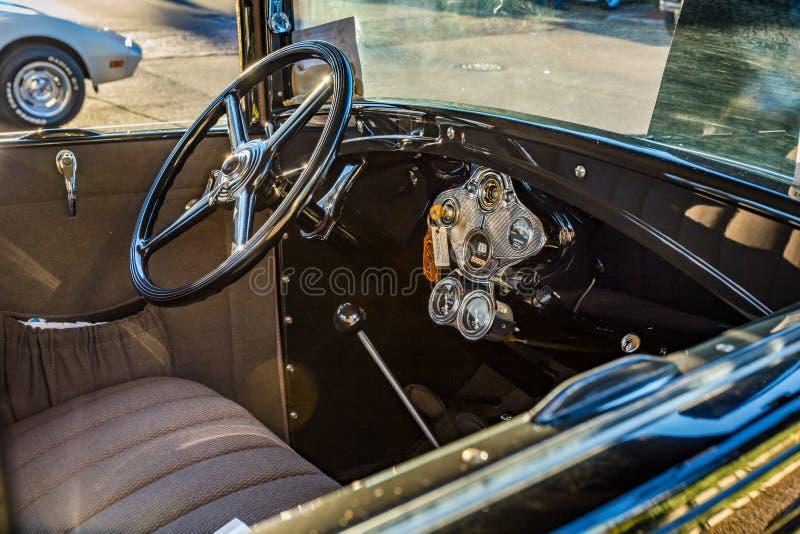 Ford Model modificado para requisitos particulares 1929 A foto de archivo libre de regalías