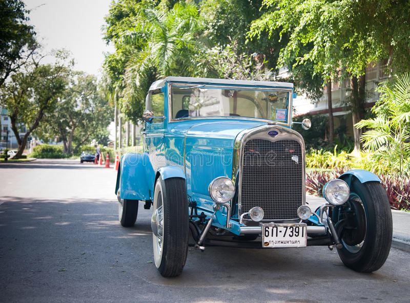 Ford Model A Roadster On Vintage Car Parade Editorial Stock Photo
