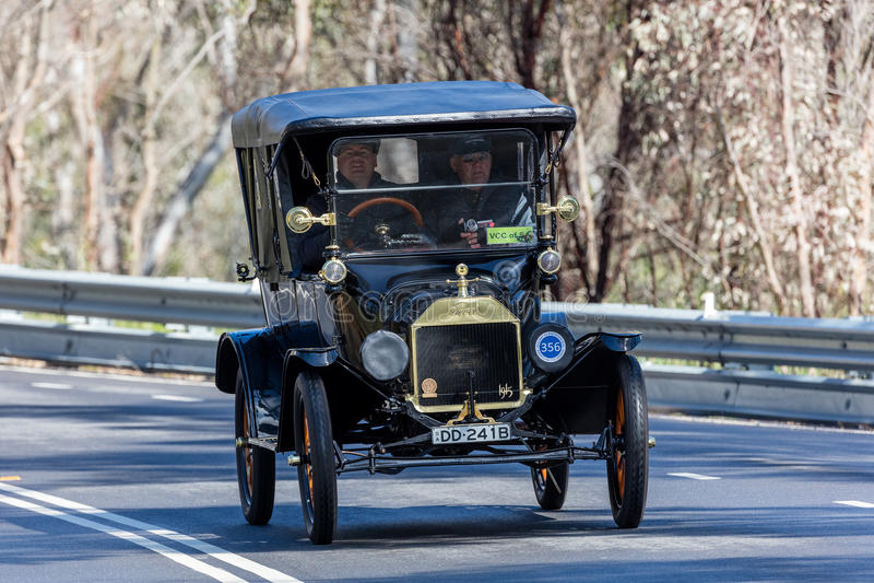 1915 Ford Model T Tourer stock afbeeldingen
