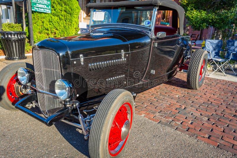 Ford Model 1929 un automóvil descubierto imágenes de archivo libres de regalías