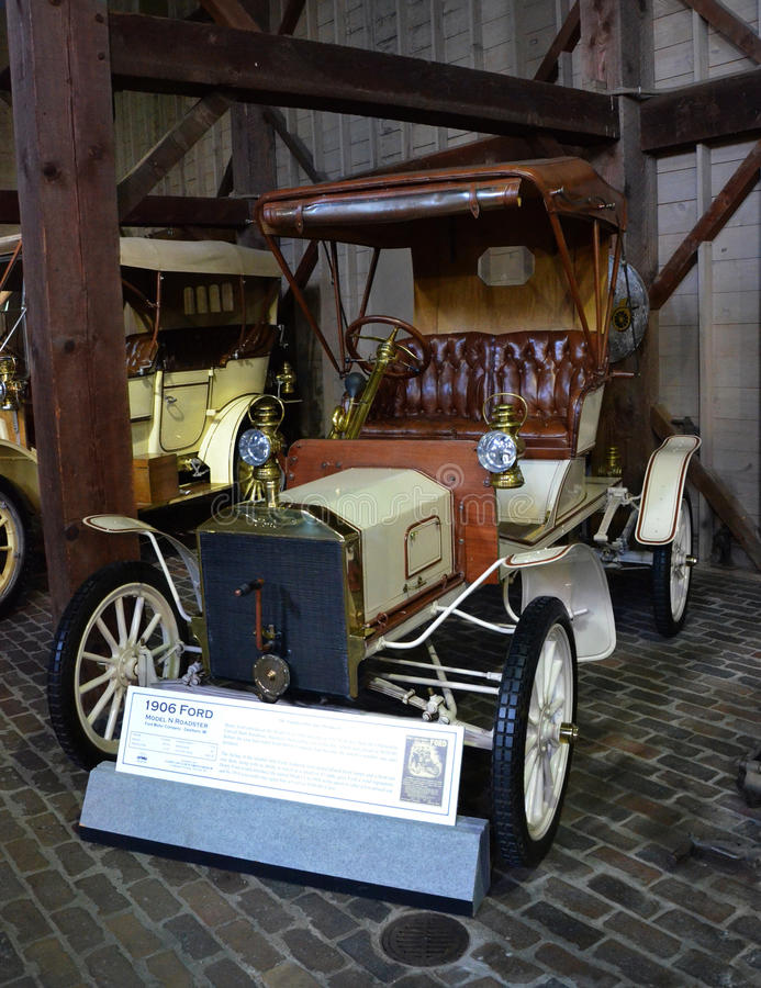 1906 Ford modela N terenówka obraz royalty free