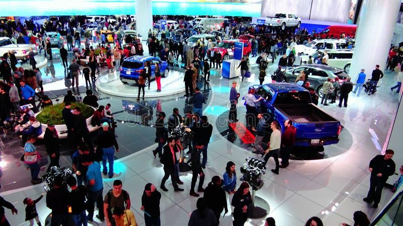 Ford Motor Co exhibit royalty-vrije stock fotografie