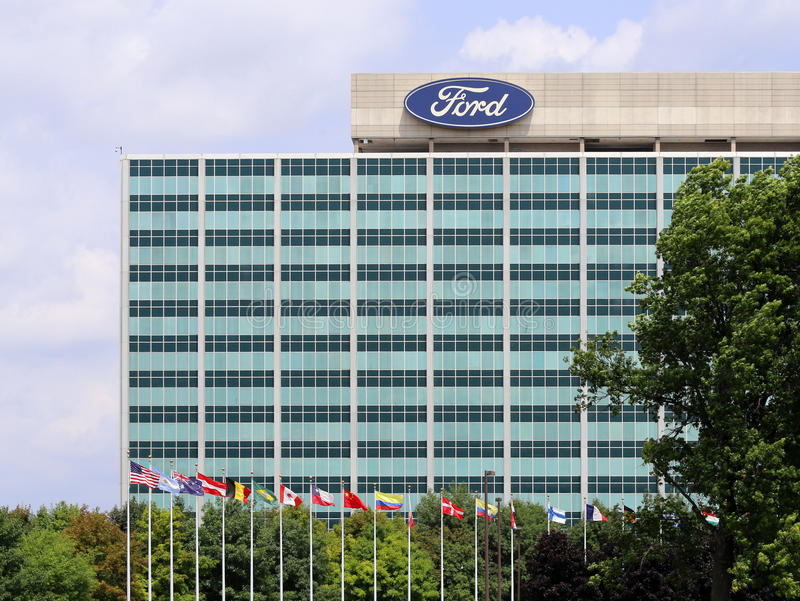 Ford Motor Company World Headquarters image libre de droits