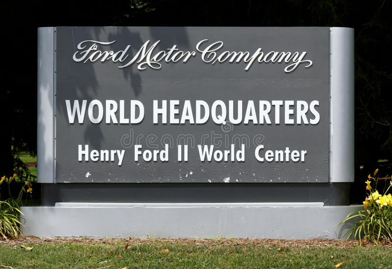 Ford Motor Company World Headquarters photographie stock