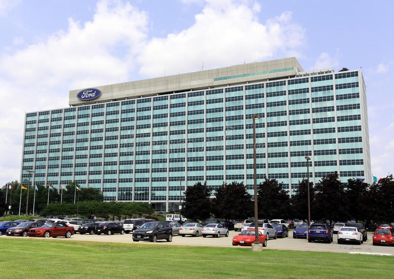 Ford motor company world headquarters editorial stock for Ford motor company in dearborn michigan