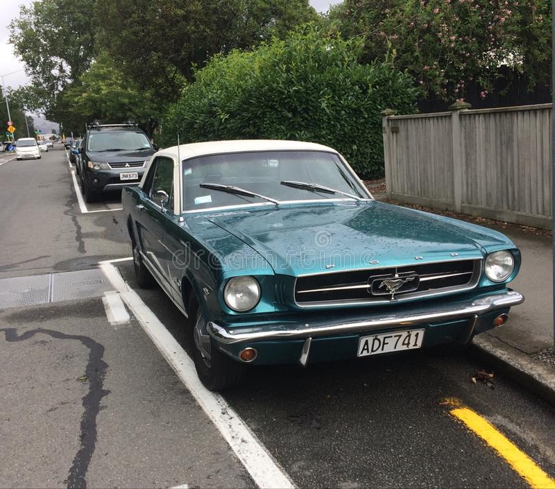 Ford Mustang 1965年 库存图片