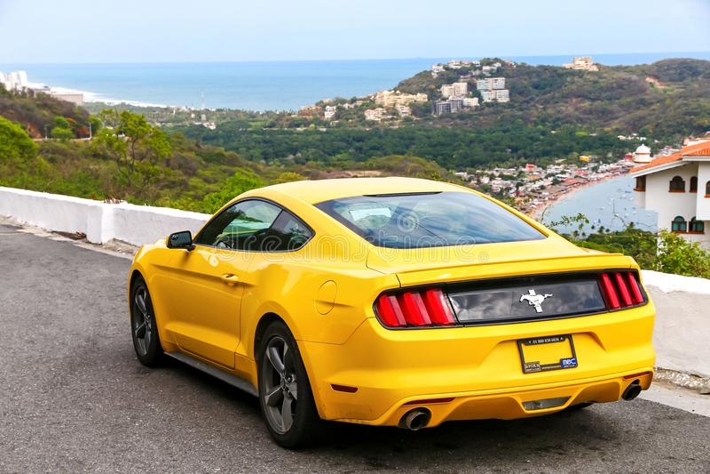 Ford Mustang stockbilder