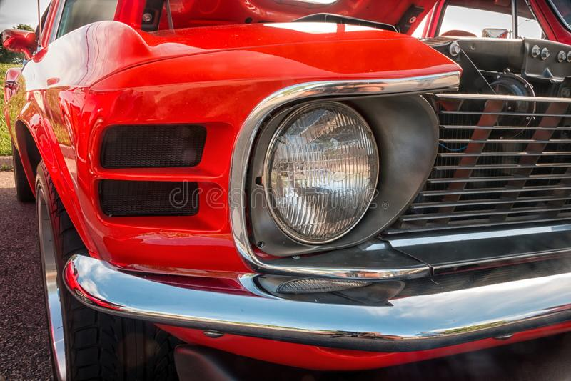 Ford Mustang 1970 imagenes de archivo