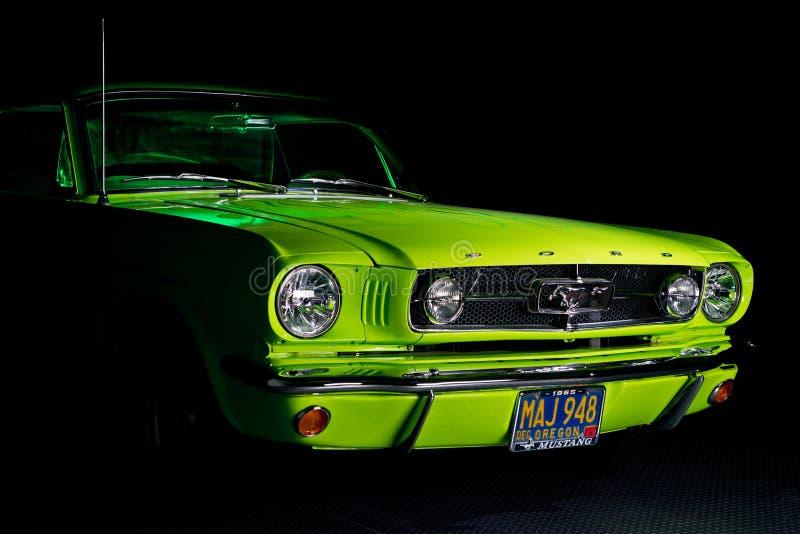 Ford-Mustang 1965 stockfotografie