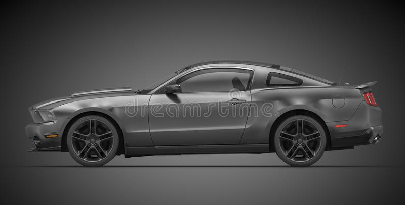 Download Ford Mustang (2010) stock illustration. Image of racing - 24555108